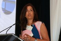 """Marisa Barbieri, chief executive officer, Competitive Solutions, and founder, The 1Life Project, presented and led a workshop with members during """"AI and Healthcare"""" about what steps they can take to be best prepared for an artificial intelligence and data-driven future."""