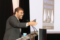 Jeremi Suri, PhD, professor for global leadership, history and public policy, University of Texas at Austin, delivers the opening keynote address.